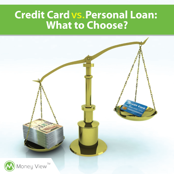 Credit Card vs. Personal Loan: What to Choose?