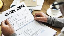 No credit score