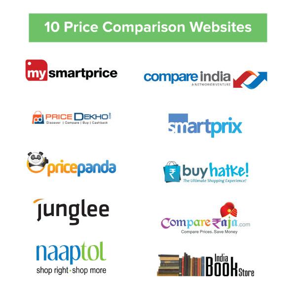 Top 10 price comparison sites