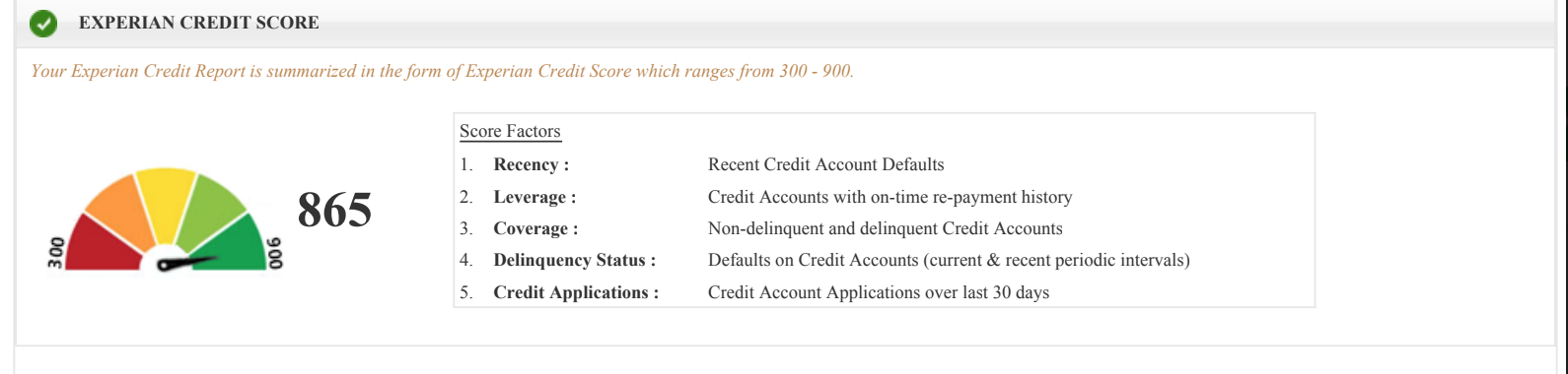 loan rejection affect credit score