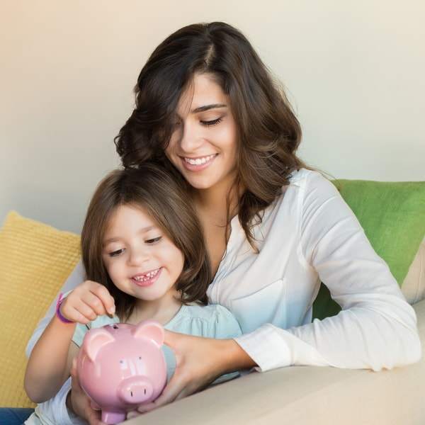women's day money lessons daughters