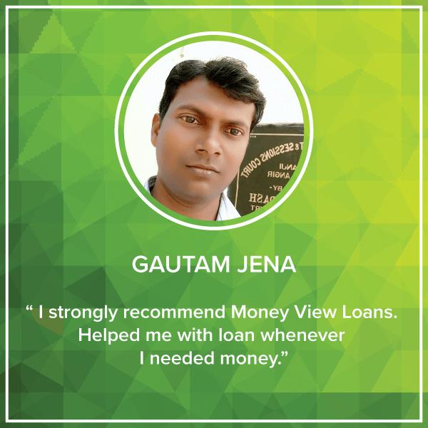 Gautam Money View Loans