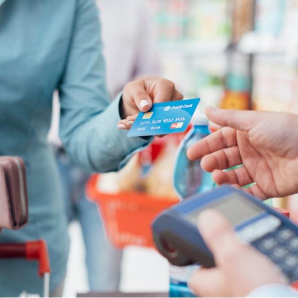 Representative image of credit card utilisation