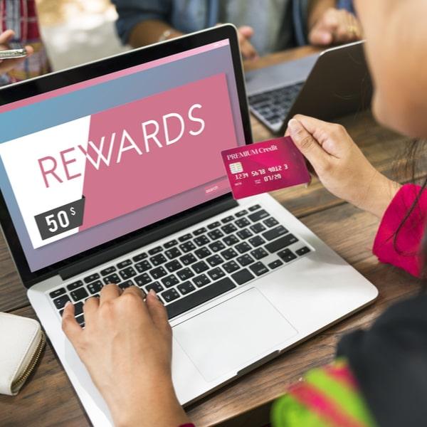 Representative image of rewards from credit card