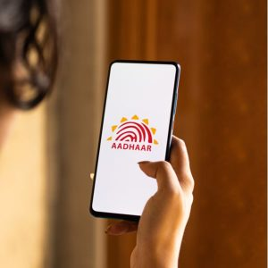 Image of M-Aadhaar app which is very convenient.