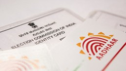 Image showing Aadhaar as an important document