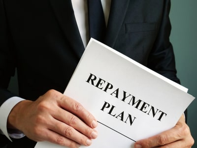 Figurative image of a repayment plan