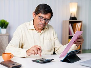 your age and income impacts EMI