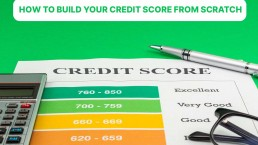 how to build credit score when you are new to credit